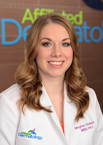 Meghan Dickerson affiliated dermatology