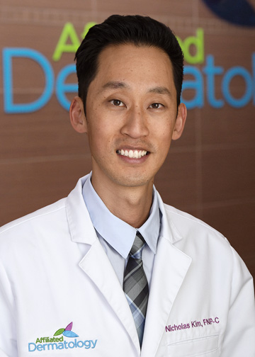 Nicholas Kim affiliated dermatology