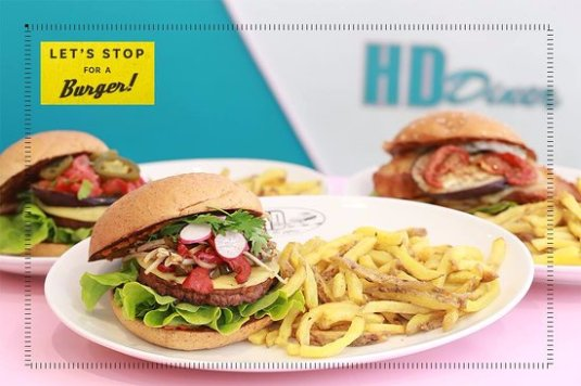 Burger vegan HD Diner