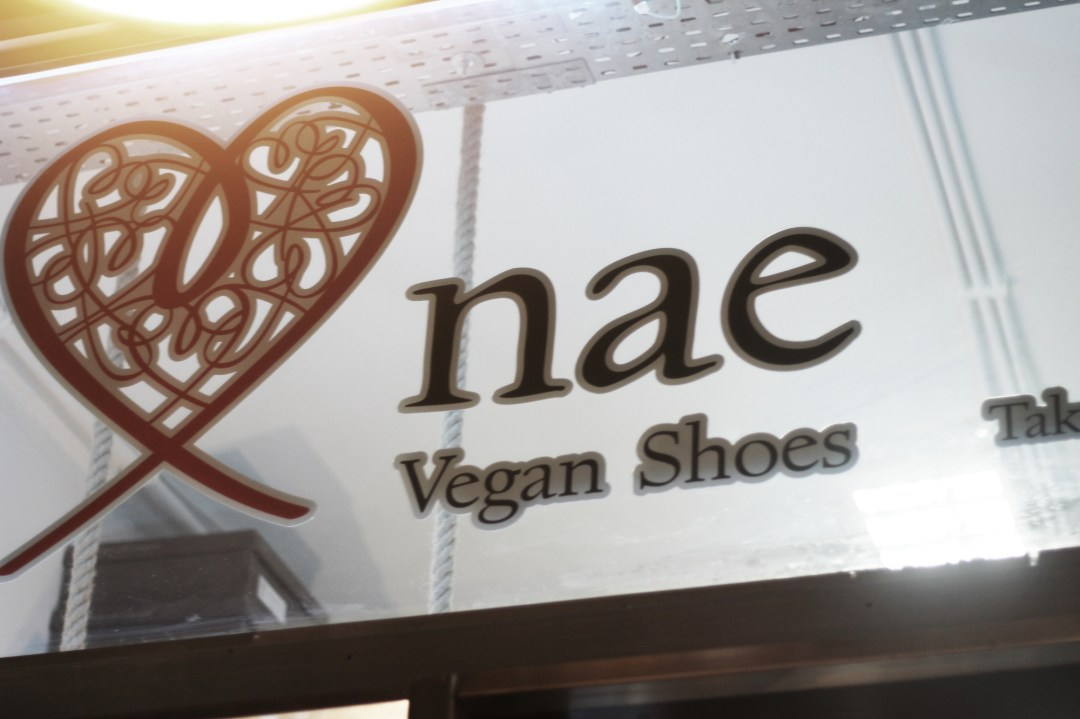 Enseigne Nae Vegan Shoes à Lisbonne