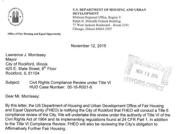HUDs 11-12-2015 letter to Rockford