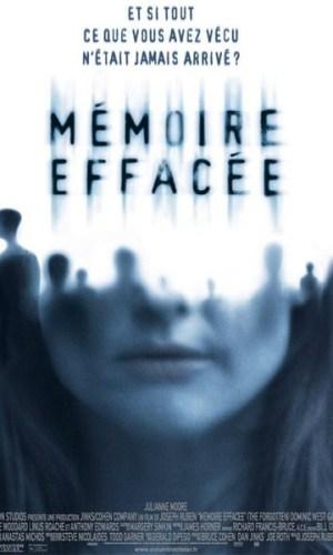 Affiche de film La mémoire effacée