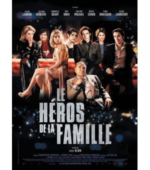 Affiche de cinéma Le héros de la famille