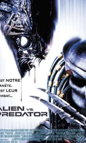 affiche du film Alien vs. prédator