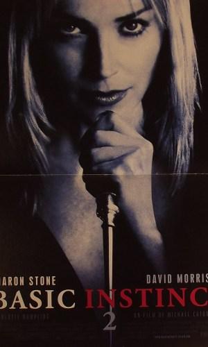 affiche de cinéma du film Basic Instinct