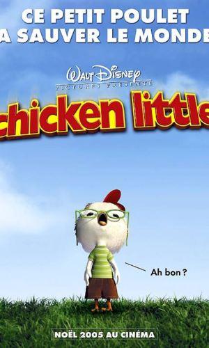 Affiche de cinéma du film Chiken Little