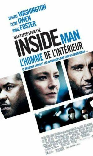 Affiche de cinéma Inside Man