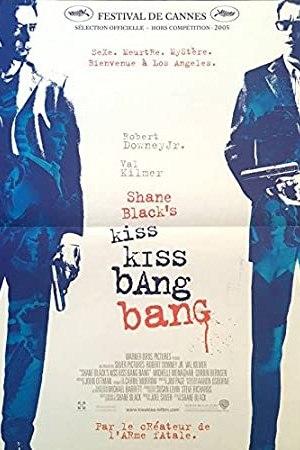 Affiche de cinéma du film Kiss Bang Bang
