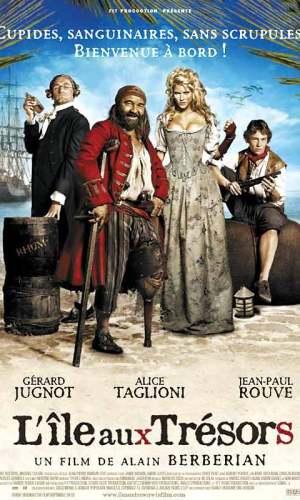 affiche du film L'île aux trésors