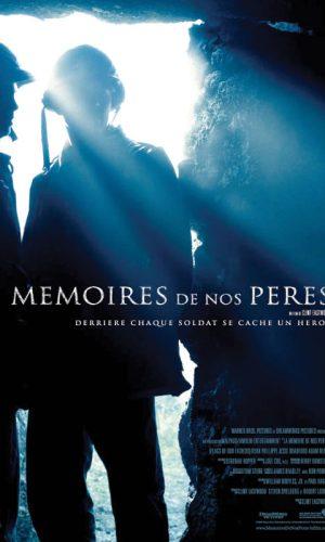 Affiche de cinema La mémoires de nos pères