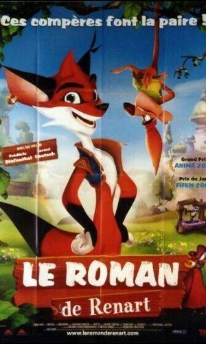 Affiche de cinéma du film Le roman de Renart