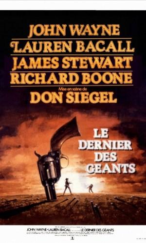 Affiche de cinéma Le dernier des géants