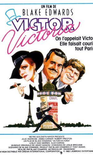 Affiche de cinéma Victor Victoria