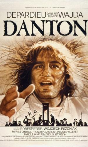 Affiche de cinéma Danton