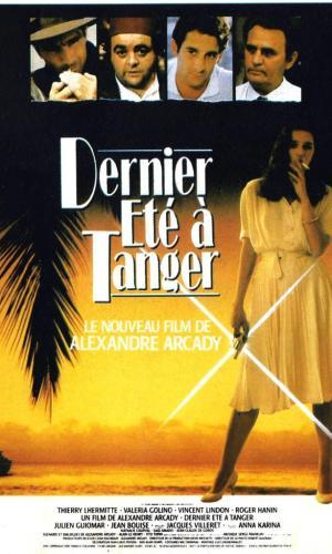 Affiche de cinéma Dernier été à Tanger