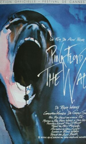 Affiche de cinéma du film The Wall Pink Floyd