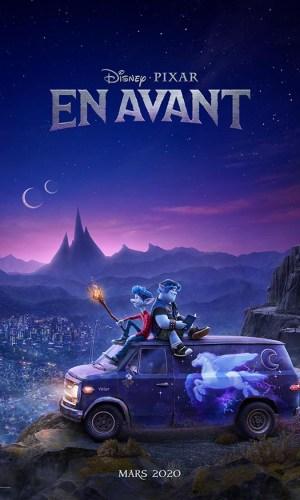 Affiche de cinéma En avant