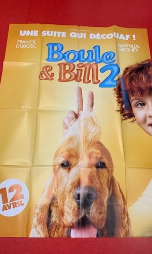 Affiche de cinéma Boule et Bill 2