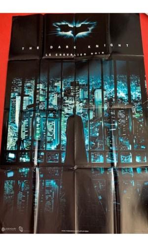 Affiche de cinéma Batman Le chevalier noir