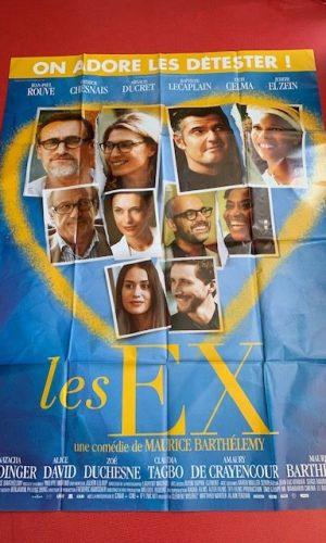 Affiche de cinéma Les Ex