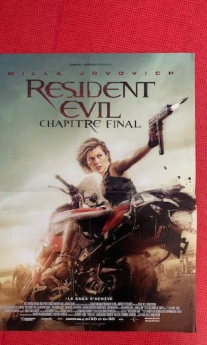 Affiche de cinema Resident evil