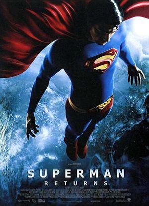 Affiche de cinéma Super man returns