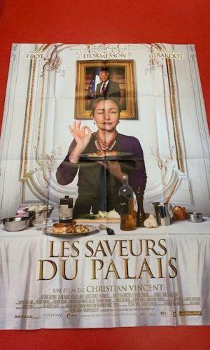 Affiche de cinéma Les saveurs du palais