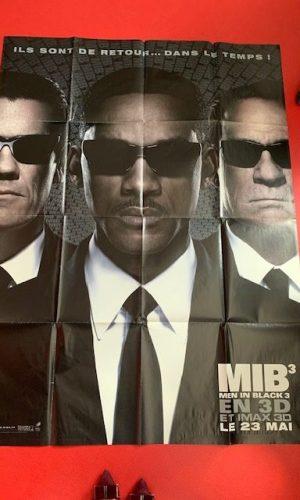 Affiche de cinéma Men in black