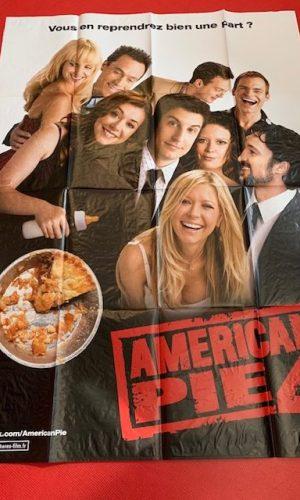 Affiche d ecinéma American Pie