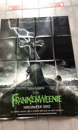 Affiche du film Frankenweenie 2012