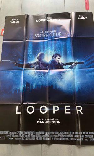 """Affiche du film """"Looper"""" (2012)"""