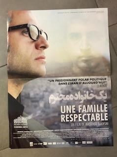 """Affiche du film """"Une famille respectable"""" (2012)"""
