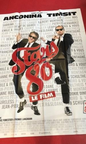 "Affiche du film ""Stars 80"" (2012)"