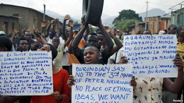 Intervention Tension: Burundi's Moment of Truth