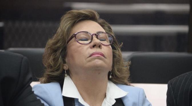 Sandra Torres: Under the Electoral Weather