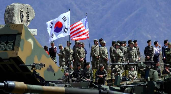 With the Drawdown of US Forces in Germany, Is South Korea Next?