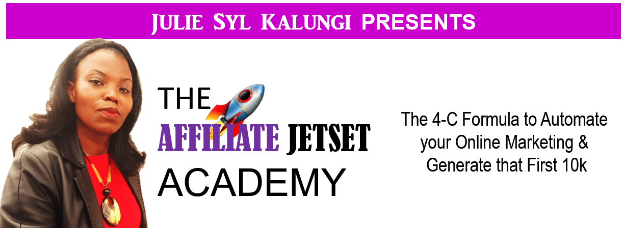 The Affiliate JetSet Academy Full e-Course Details - For Home Business Entrepreneurs and Affiliates to Create Your First 10k Online