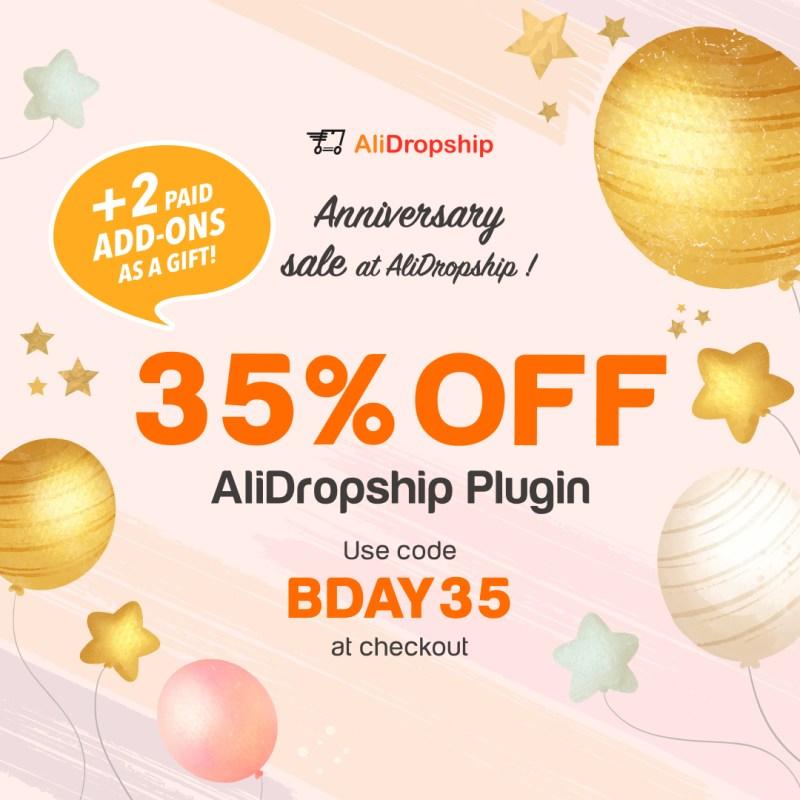 Get 35% OFF best dropshipping plugin!