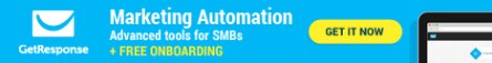 GETRESPONSE MARKETING AUTOMATION