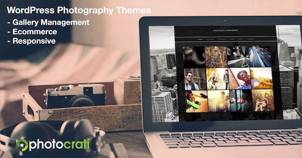 City WordPress Photography Theme