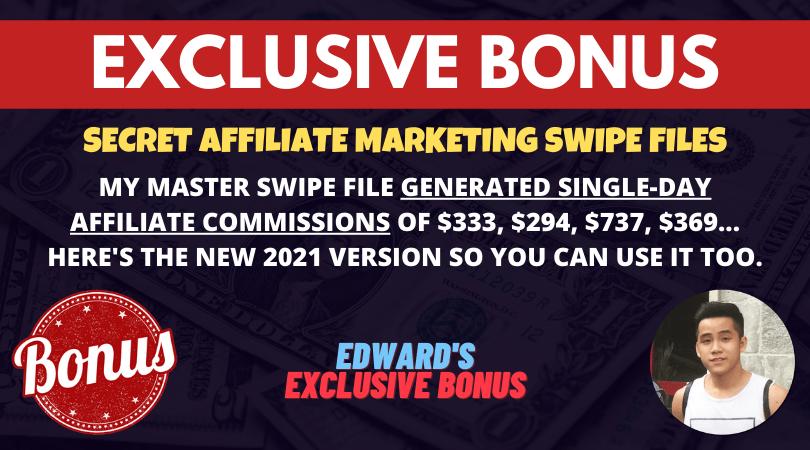 bonus 2021 Affiliate Marketing Master Swipe File