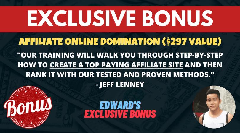bonus affiliate online domination