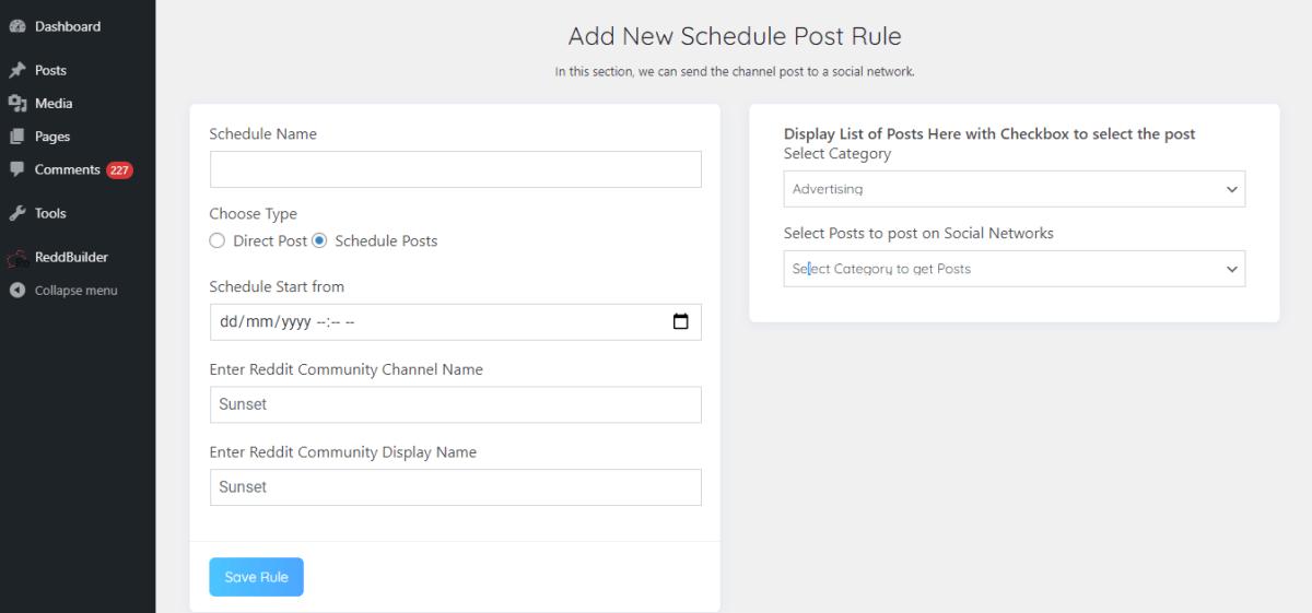 reddbuilder-review-schedule-reddit-post-section