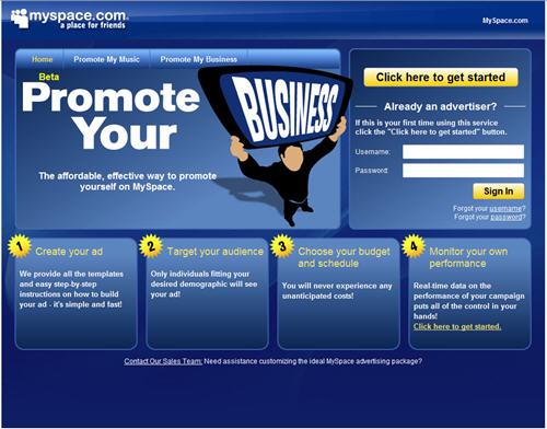 MySpace Advertising
