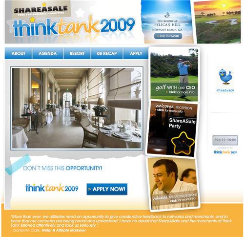ShareASale ThinkTank 2009
