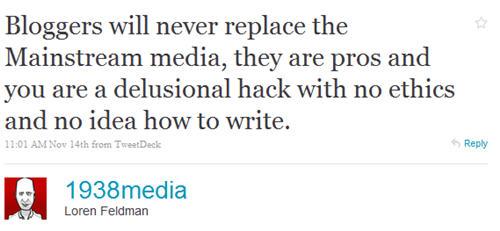 Loren Feldman on bloggers