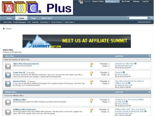 ABC's Plus Discussion Forum