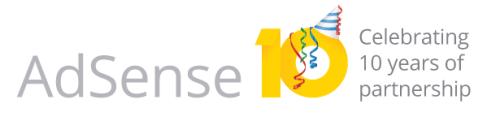 Google AdSense turns 10 years old