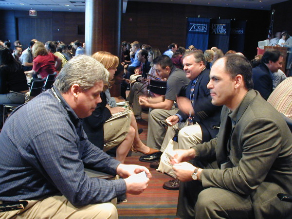 Speed networking at Affiliate Summit 2003