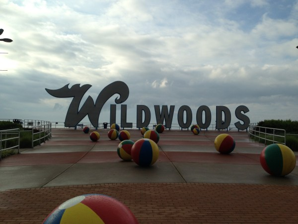 Hanging Out at the Jersey Shore - July 2013